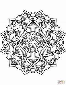 mandala coloring pages 17917 flower mandala coloring page free printable coloring pages