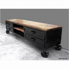 meuble style industriel métal 24521 meuble tv industriel 45 id 233 es et mod 232 les 100 d 233 cal 233 s 2019