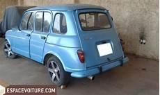 renault 4l a vendre 4l occasion 224 meknes renault 4l essence couleur bleu clair r 233 f mes992