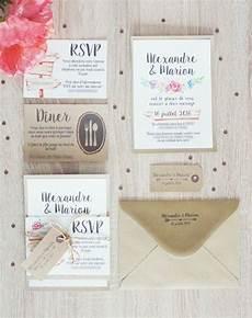 faire part mariage diy faire part de mariage diy diy save the date carte