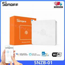 Sonoff Snzb Wireless Switch Mini Size by New Sealed Iris Smart Electrical Outlet Remotely