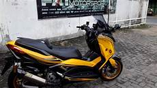 Modifikasi Xmax 250 by Yamaha Xmax 250 Modifikasi Hedon By Fatmotor
