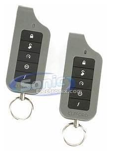 Clifford Matrix 1 2 4102x 1 Way Remote Start With