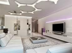techos modernos con luces led integradas 50 ideas