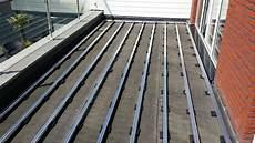 terrassenaufbau holz detail aslon terrace decking substructure system installation