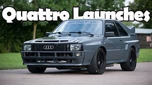 Most Insane Audi Quattro Launches  YouTube