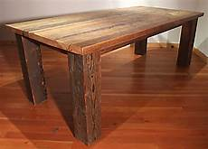 alter esstisch holz reclaimed wood bunkhouse dining table