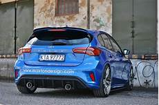 Focus St Mk4 - spoiler extension ford focus mk4 st line textured our