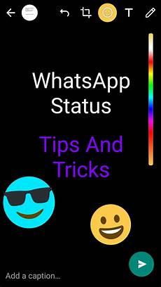 8 Cool New Whatsapp Status Tips And Tricks