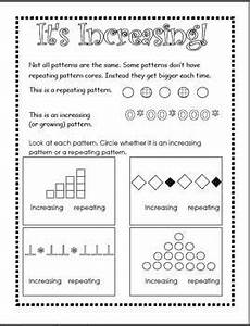 repeating patterns worksheets grade 2 233 patterns unit repeating increasing decreasing distance learning math patterns pattern