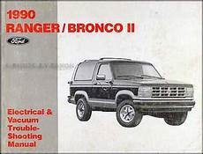 car repair manual download 1990 ford ranger instrument cluster 1990 ford service specs book ranger bronco ii aerostar