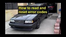 security system 1995 volvo 940 on board diagnostic system how to read and reset error codes with the diagnostic tool on the volvo 850 obd1 youtube