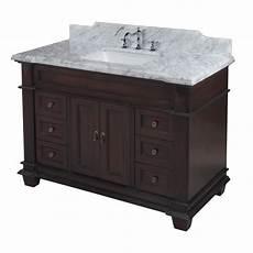 kitchen bath collection kbc elizabeth 48 quot single bathroom vanity set reviews