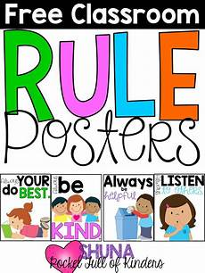 free printable worksheets classroom 18623 free classroom rule posters these are so kinderland collaborative