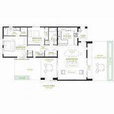 modern 2 bedroom house plan 61custom contemporary