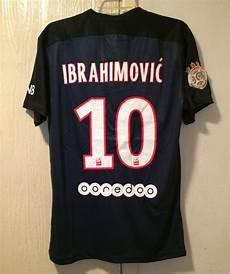 zlatan ibrahimovic psg home jersey 2015 16 s large l