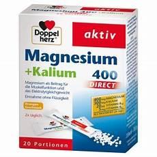 Doppelherz Aktiv Magnesium Kalium 400 Direct Docmorris
