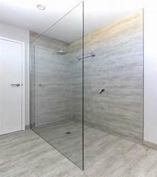 Duschwand Glas Walk In - frameless shower screens 10mm geelong splashbacks atmos