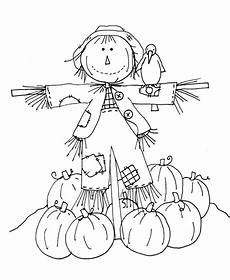 coloring pages of scarecrows for preschooers coloring home