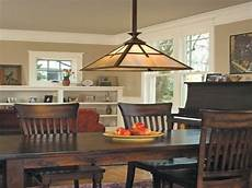 stylish arts and crafts dining room lighting fixtures