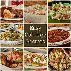 35 easy cabbage recipes mrfood