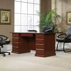 sauder home office furniture sauder outlet heritage hill executive desk 29 3 4 quot h x 70