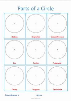 parts of a circle worksheet parts of a circle a transum worksheet