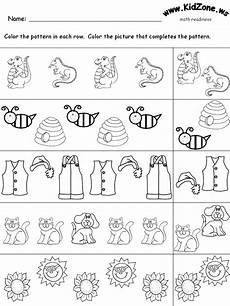 animal pattern worksheets 14350 patterns review 2
