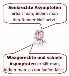 asymtoten asymptote asymptoten berechnen grenzwert