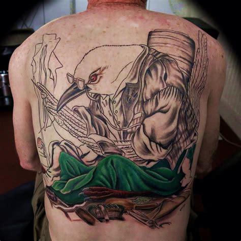 Celtic Upper Back Tattoos