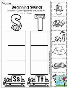 cut and paste letter worksheets for kindergarten 23464 pin on beginning sounds