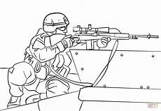 Ausmalbilder Polizei Spezialeinheit Army Sniper Coloring Page Free Printable Coloring Pages