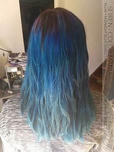 coloration cheveux bleu minuit directions color mania