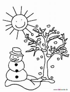 malvorlagen mit wintermotiven
