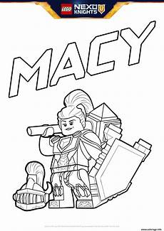 coloriage lego nexo knights bouclier macy jecolorie