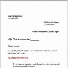 Downloaden Mod 232 Le De Lettre Cl 244 Ture De Compte Bancaire F 252 R