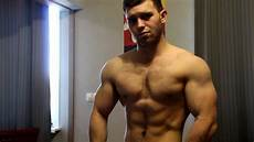 muscles flexing show youtube
