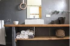 plan vasque bois salle de bain regardsetmaisons ma nouvelle salle de bain de b 233 ton et de