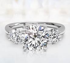 three stone engagement rings ritani