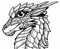 Ausmalbilder Drachen Fabelwesen Fabelwesen Ausmalbild Drachenkopf