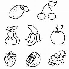 Malvorlagen Obst Quiz Kostenlose Malvorlage Obst Und Gem 252 Se Obst Zum Ausmalen