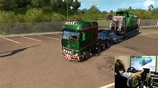 truck simulator 2 heavy haul dlc 61t load with wheel