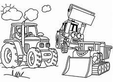 Malvorlagen Bagger Traktor Bagger 7 Ausmalbilder