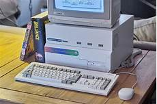 commodore amiga 4000 computer with highflyer expansion