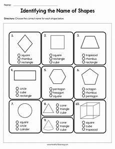 2d shapes names worksheets 1210 identifying the name of shapes worksheet teaching
