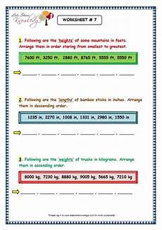 writing numbers in ascending and descending order worksheets 21206 grade 3 maths worksheets 4 digit numbers 1 8 arranging 4 digit numbers in ascending and descen