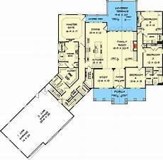 country craftsman house plans expanded country craftsman home plan with 3 car angled