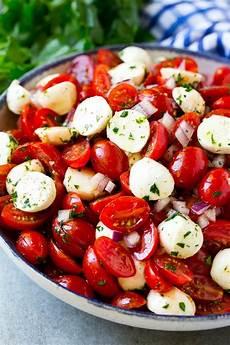 tomate mozzarella dressing cherry tomato salad dinner at the zoo