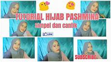 Tutorial Pashmina Simple Dan Cantik