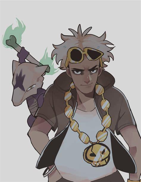 Pokemon Guzma Age